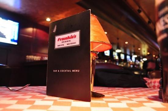 Frankie's Sports Bar & Diner: Dal tavolo...