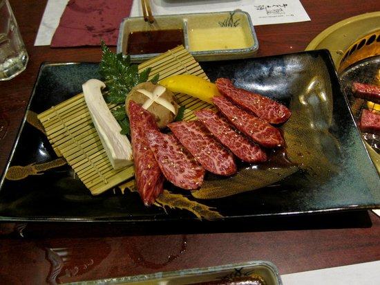 Rengaya: Wagyu rib meat