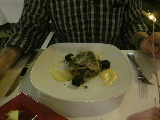 Hotel Paris Prague: sea bass