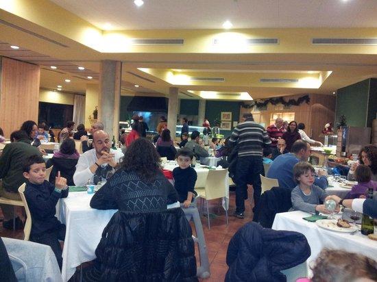 Vilar Rural de Cardona: comedor