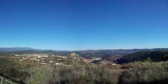 Vilar Rural de Cardona: vistas