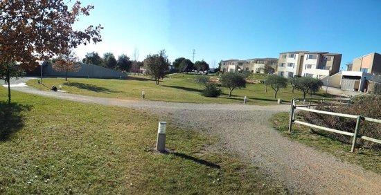 Vilar Rural de Cardona: parque