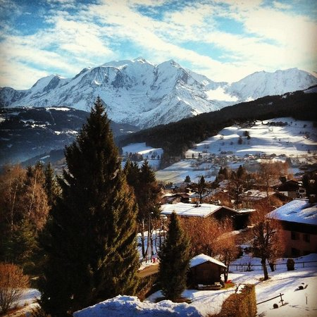 Aux Ducs De Savoie : View from our room (Number 227) on January 4th, 2012