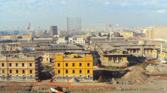Villa Benedetta: Бесподобный вид из окна)
