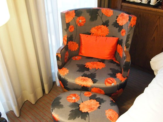 Hilton The Hague: Comfortable Chair