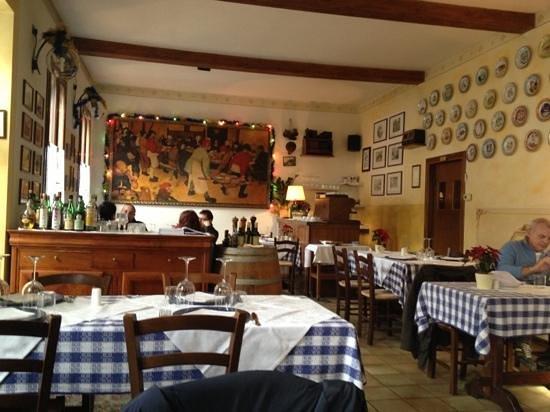 Trattoria Tri Ori: interno ristorante