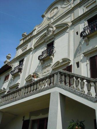 Villa  Vistarenni: facciata