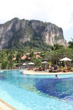 Aonang Villa Resort: View from pool