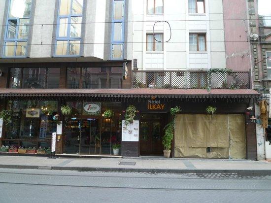 Hotel Ilkay: Entrance