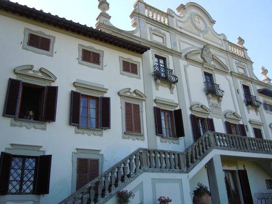 Villa  Vistarenni: esterno