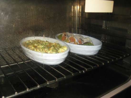 Ristorante Cin Cin : Fish and casserole
