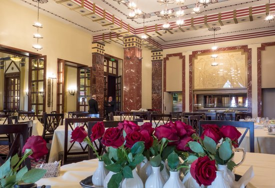 The King David : The main dining room