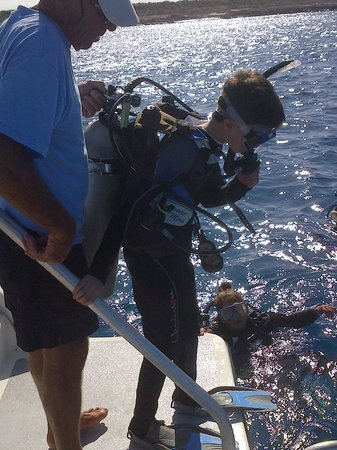 Art Pickering's Provo Turtle Divers: Taking the plunge !