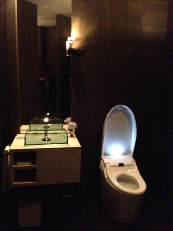 Park Hyatt Shanghai: toilet at living room