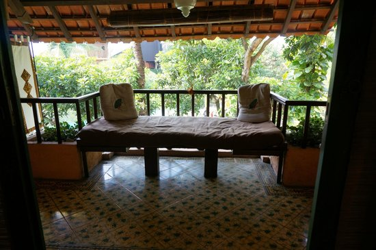 Dusun Jogja Village Inn: Our private balcony