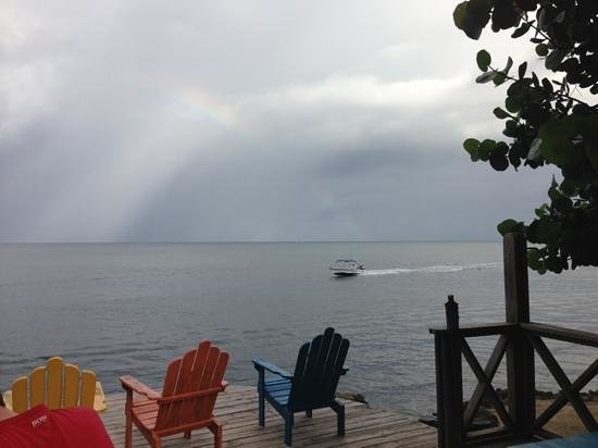 لاس روكاس ريزورت آند دايف سنتر: rainbow from the bar deck 