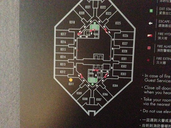 Park Hyatt Shanghai: Floor map