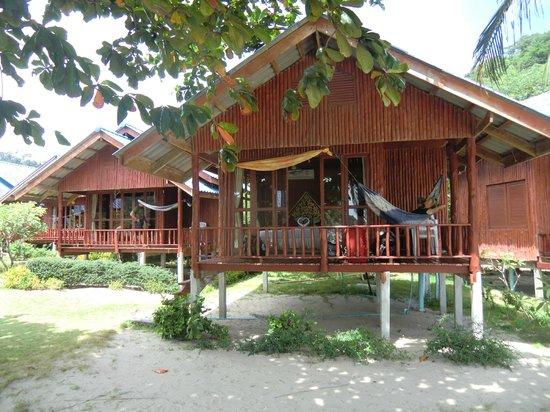 Candle Hut Resort: unsere Hütte