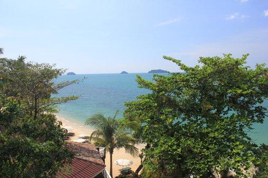 Koh Chang Cliff Beach Resort: Aussicht Zimmer