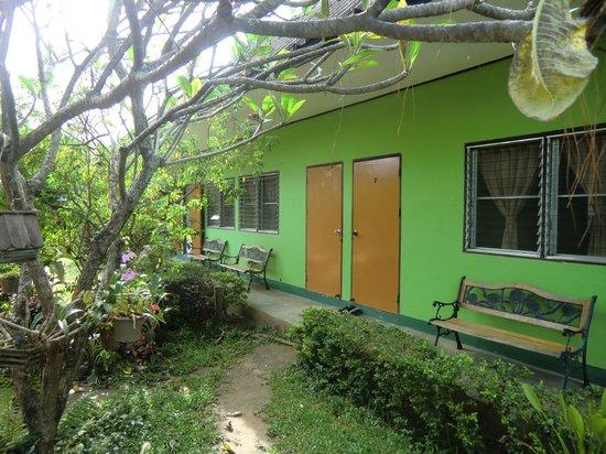 Baan Bua Guesthouse: rechts war unser Zimmer