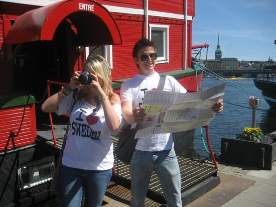 The Red Boat Hotel & Hostel: We <3 Sweden!