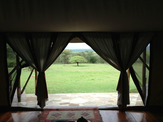 Olderkesi Private Reserve, Kenya: Dalla tenda...