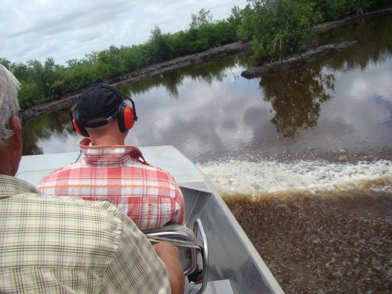 Jungle Erv's Everglades Airboat Tours: Fun and at times, fast ride.
