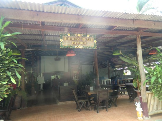 Holiday Beach Resort: das Restaurant