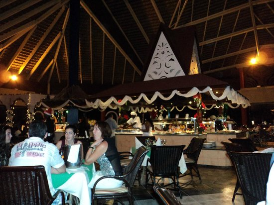 Barcelo Dominican Beach: Restaurant du maxi club