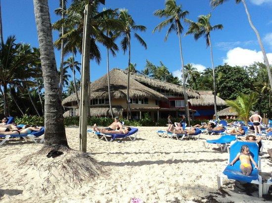 Barcelo Dominican Beach: Restaurant de la plage