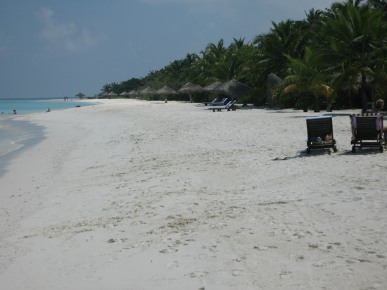 Kihaa Maldives: Spiaggia stanze 200