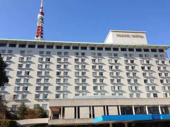 Tokyo Prince Hotel: 東京タワー直近