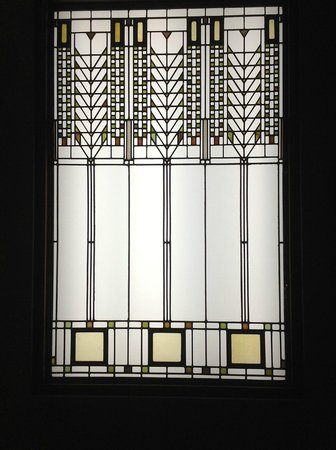 Oak Park, IL : Frank Lloyd Wright famous window design