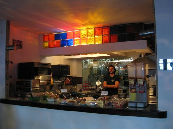 Hotel Enfrente Arte: Cuisine du petit déjeuner