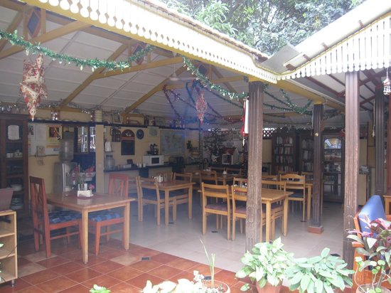 Casa Cottage : Cafe area