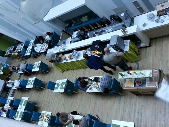 Atrium Fashion Hotel: Sala colazioni