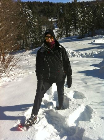 Snow shoeing at Stone Hill Inn