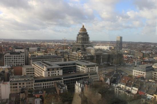 The Hotel - Brussels: Vue depuis le 18eme etage