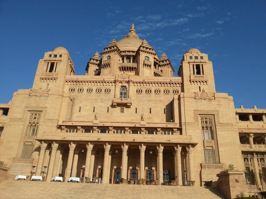Umaid Bhawan Palace Jodhpur: Facade
