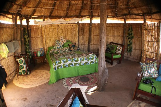 Crocodile River Camp: Inside - simple yet very comfy