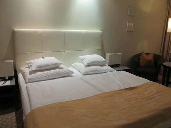 Hotel Das Tigra: Very comfortable beds