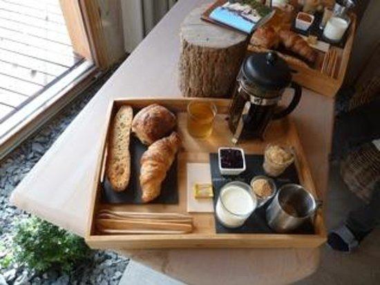 D'une Autre Nature: petit déjeuner