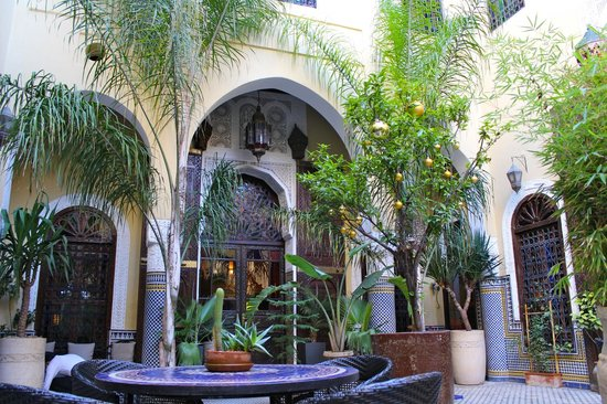 Riad Le Calife: Courtyard