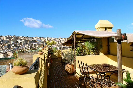 Riad Le Calife: Roof Terrace