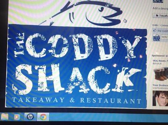 The Coddy Shack: coddy shack new logo