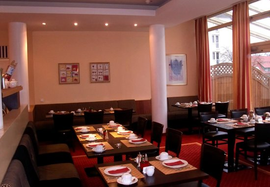 Hotel am Jungfernstieg: Frühstücksraum