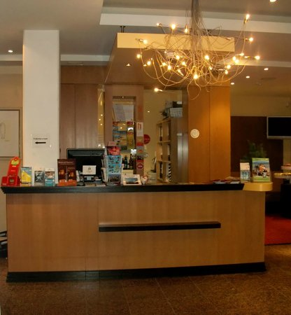 Hotel am Jungfernstieg: Rezeption
