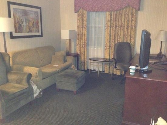 Homewood Suites by Hilton Buffalo-Airport: Living Room area