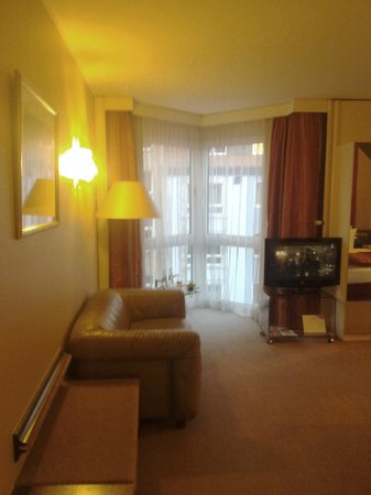Crowne Plaza Hotel Hannover: Crowne Plaza Hannover - Room view