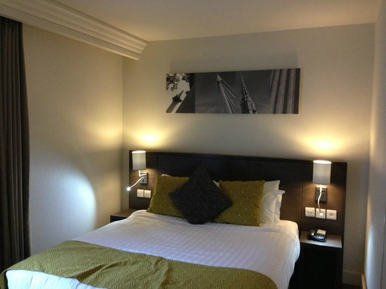 Citadines Trafalgar Square London: Chambre